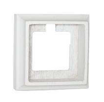 Рамка 1-ная Villaris-Simon, серия Empty, 7311014, цвет - молочно-белый