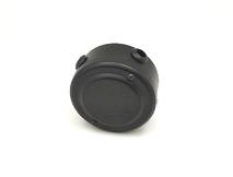 PETRUCCI коробка распределительная 76*48, сталь, цвет чёрный муар, арт. 10ST4