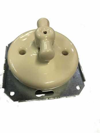 Механизм выключателя Colony 2-кл., слоновая кость Retrika арт.RV-SW-25