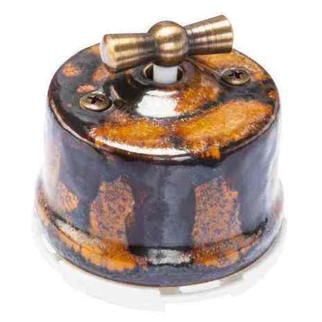 OP31EX Выключатель перекрестный для наружного монтажа, экзотик