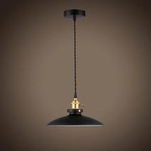 Светильник D260 E27 Черный 057-929