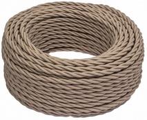 В1-426-716 Bironi Коаксиальный кабель 1*1, «каппучино» 1 м.